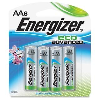 Energizer EcoAdvanced AA Batteries - (6 PerPack)
