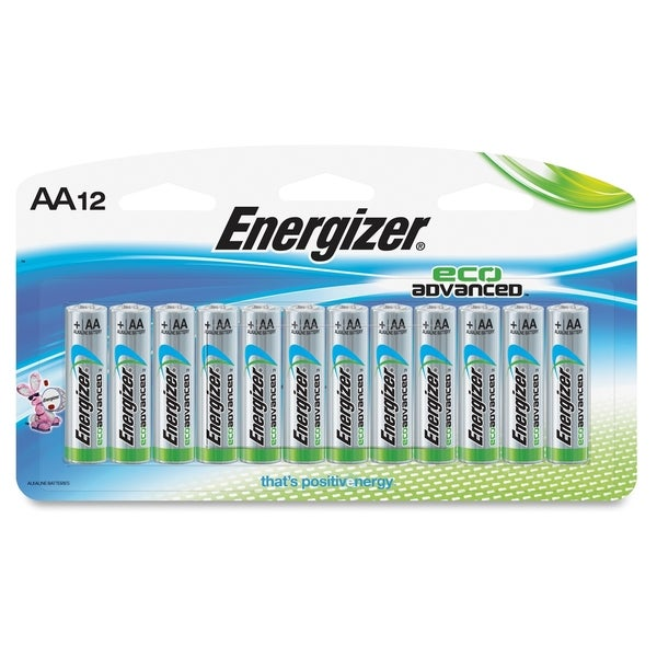 Energizer EcoAdvanced AA Batteries - (12 PerPack)