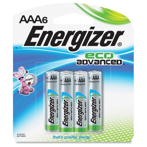 Energizer EcoAdvanced AAA Batteries - (6 PerPack)
