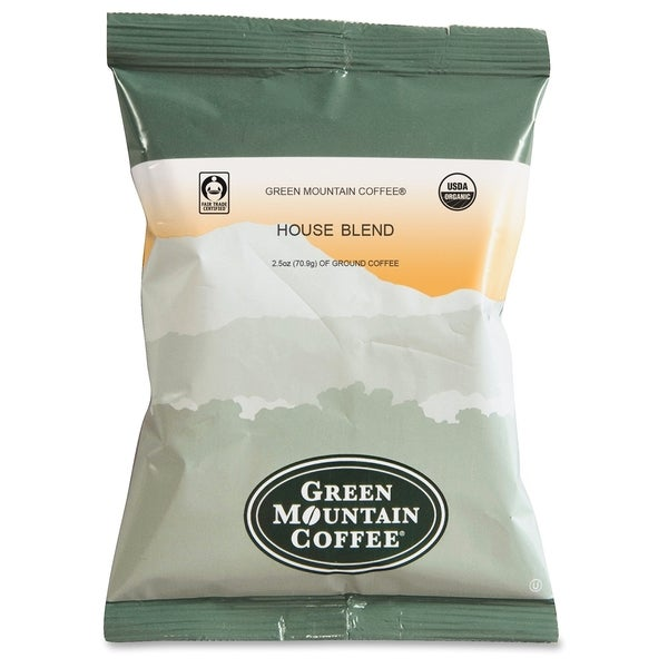 Green Mountain Coffee Fair Trade Organic House Blend - (50 PerCarton)