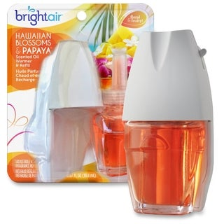 Bright Air Hawaiian Electric Scented Oil Warmer Combo - (1 PerPack)