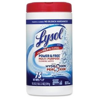 Lysol Peroxide Multipurpose Wet Wipes - (75 Each)