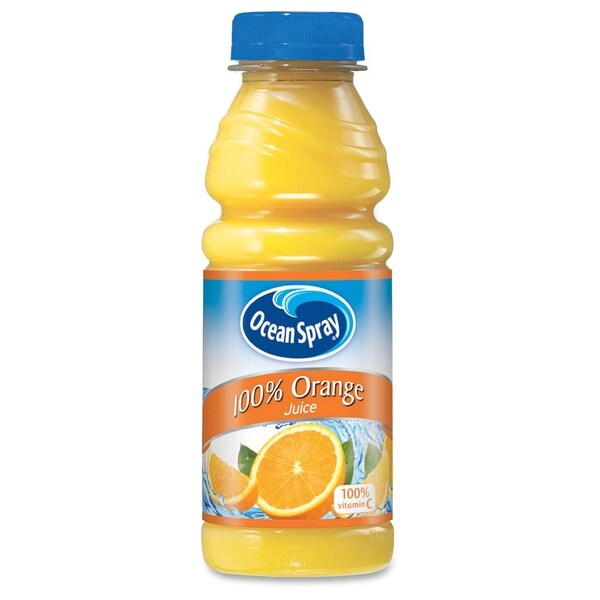 Ocean Spray Bottled Orange Juice - (12 PerCarton)