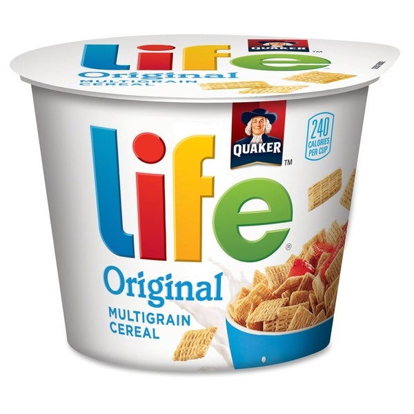 Quaker Oats Life Original Multigrain Cereal Bowl - (12 PerCarton)