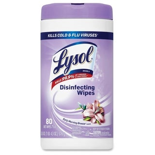 Lysol Morning Breeze Disinfecting Wipes - (80 Each)