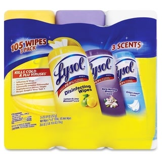 Lysol Disinfecting Wipes 3-pack - (105 PerPack)