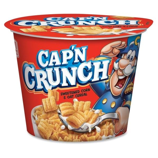 Quaker Oats Cap'N Crunch Corn/Oat Cereal Bowl - (12 PerCarton)