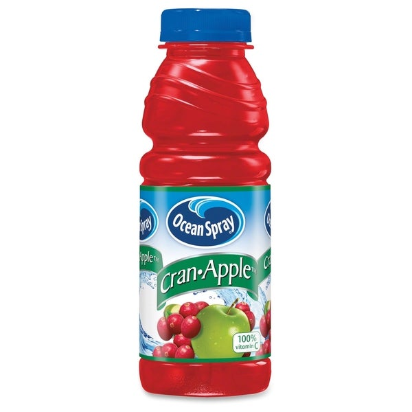 Ocean Spray Bottled Cran-Apple Juice Drink - (12 PerCarton)