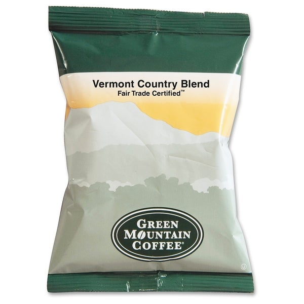 Green Mountain Coffee Vermont Country Blend Caffeinated Coffee - (1 PerCarton)