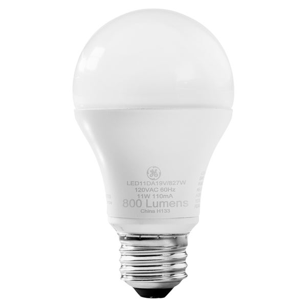 GE 11-watt Dimmable LED Bulb - (6 PerCarton)