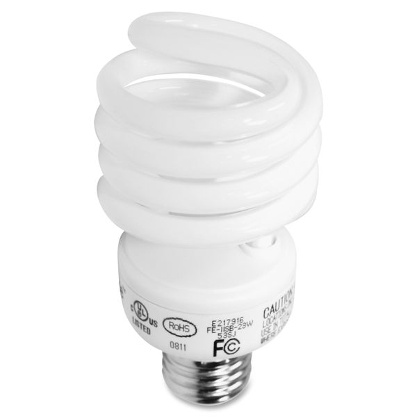 GE 23-watt Spiral CFL Bulb - (10 PerCarton)