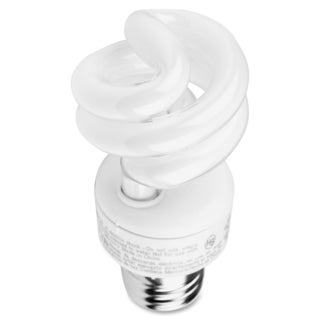 GE 9-watt Spiral CFL Bulb - (10 PerCarton)