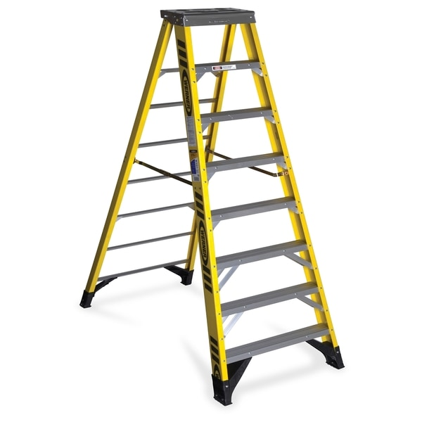 Werner 7308 8 Ft Type Iaa Fiberglass Step Ladder 1 Each