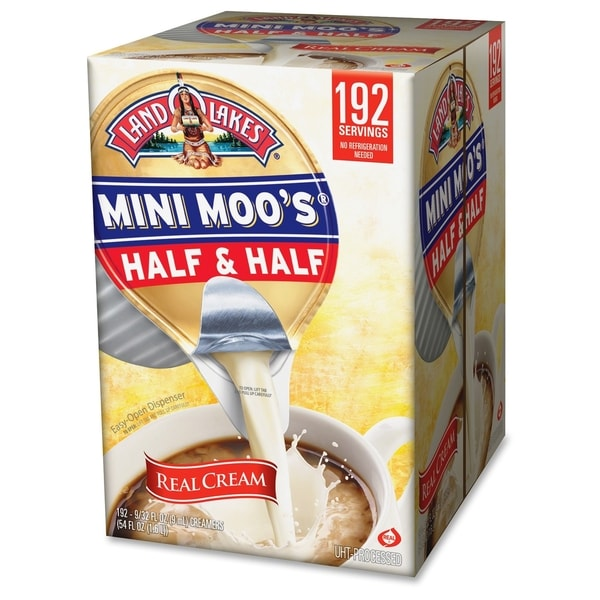 International Delight Land O Lakes Half/Half Cream Singles - (1 PerCarton)