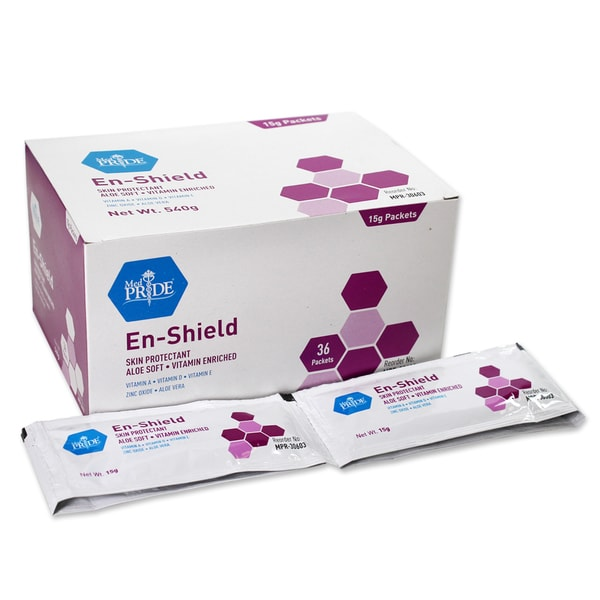 En-Shield Barrier Cream 15g Packets (4 Boxes of 36 Packets)