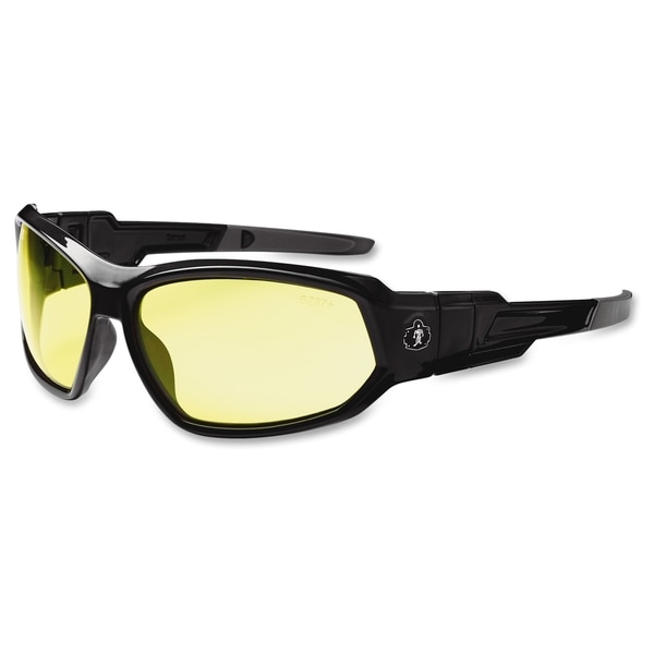 Ergodyne Loki Yellow Lens Safety Glasses - (1 Each)