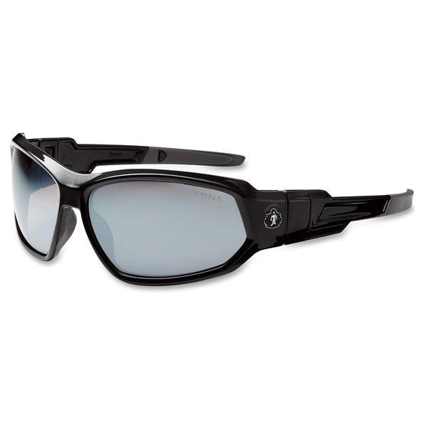 Ergodyne Loki Silver Mirror Lens Safety Glasses - (1 Each)