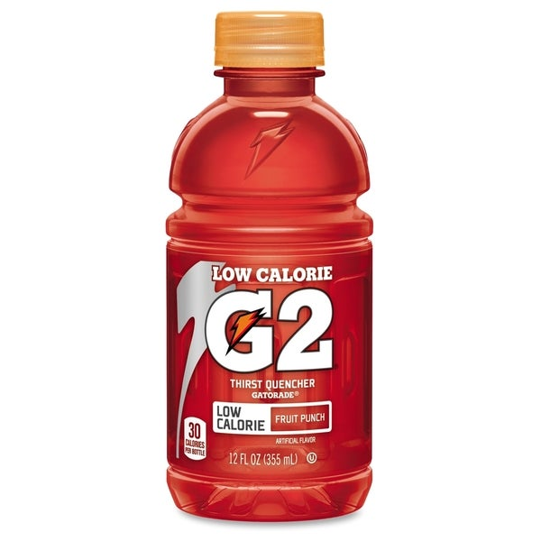 Gatorade G2 Fruit Punch Sports Drink - (24 PerCarton)
