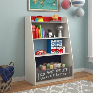 Altra Kaleidoscope Classic Storage Bookcase by Cosco