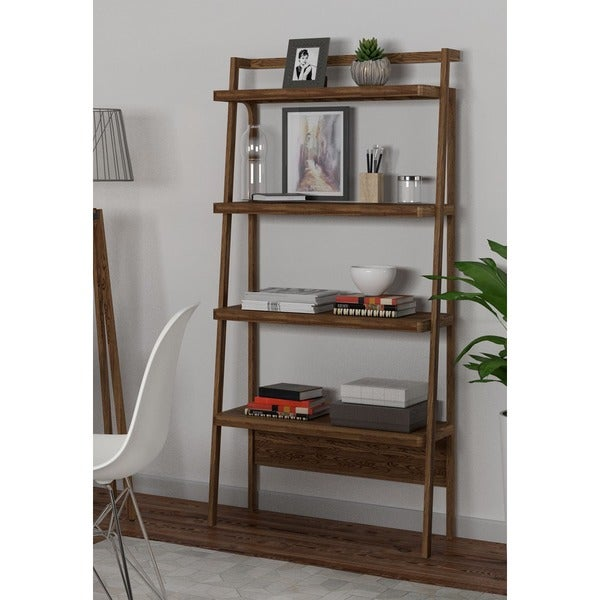 Titan Walnut Bookcase