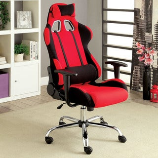Furniture of America Kendo Height-adjustable Padded Office or Gaming Chair