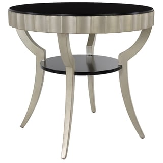 Safavieh Couture Collection Kira Acacia Black/ Gold Side Table