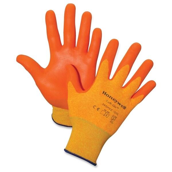 Honeywell Tuff-Glo Hi-Viz Safety Gloves - (2 PerPair)