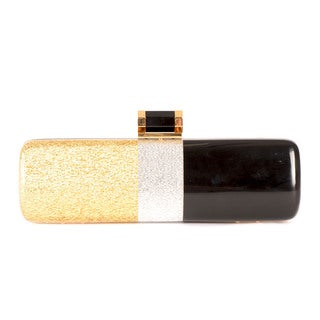 Halston Oblong Minaudiere Evening Handbag
