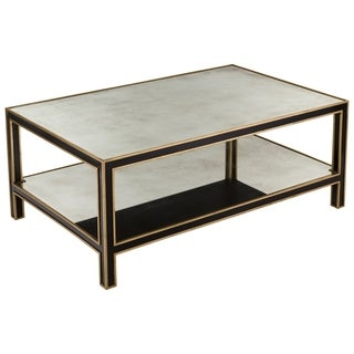Safavieh Couture Collection Cambria Acacia Black/ Gold Coffee Table