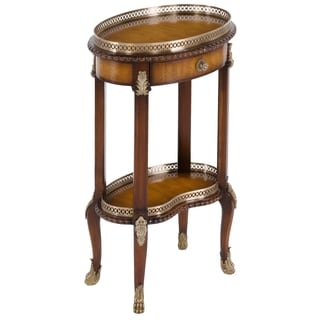 Safavieh Couture Collection Amsterdam Acacia/ Mahogany Storage Accent Table