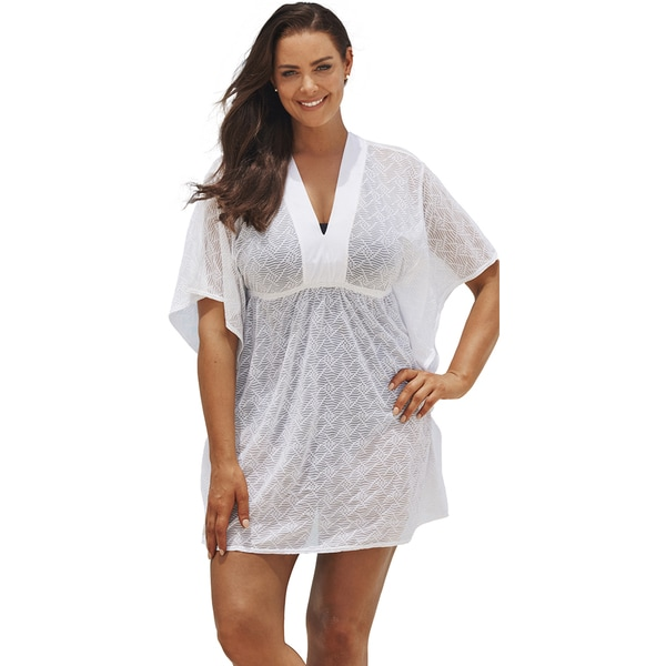White Batwing Tunic