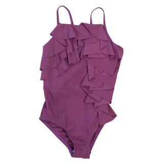 Girls' Ruffle One Piece Swimsuit