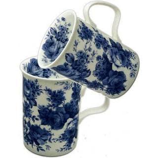 Roy Kirkham Lancaster English Chintz Mugs (Set of 6)