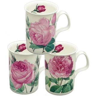 Roy Kirkham Lancaster Les Roses Mugs (Set of 6)