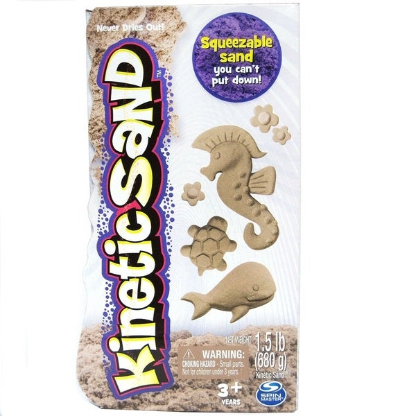 Spin Master Kinetic Sand 1.5lb Brown