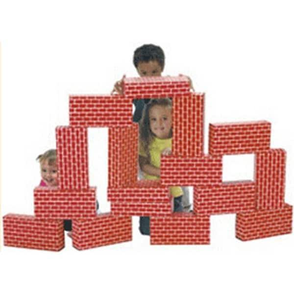 Smart Monkey Toys Giant 16-piece Building Block Set 17281047