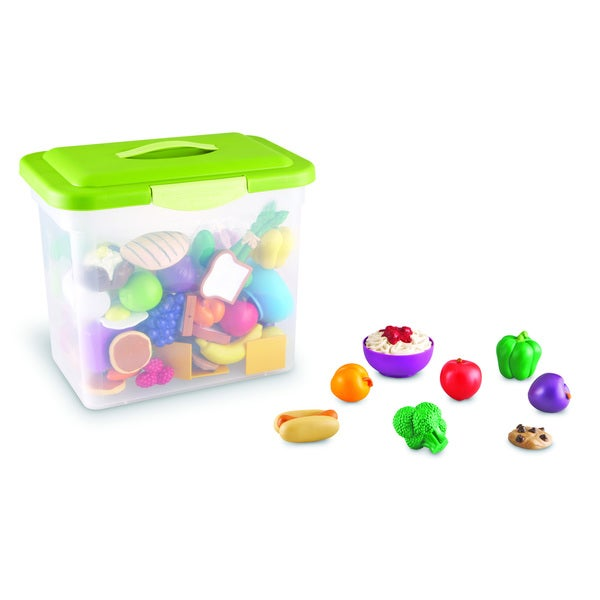 New Sprouts Classroom Play Food Set in Large Tote 17281071