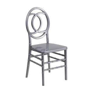 Offex Hercules Indestructo Indoor/Outdoor Royal Stacking Chair