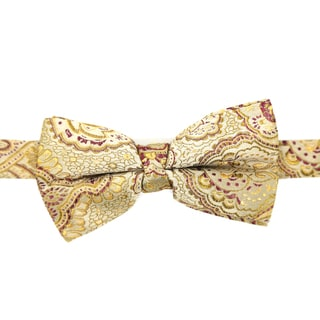 Ferrecci Men's Luxury Paisley Tapestry Bow Tie
