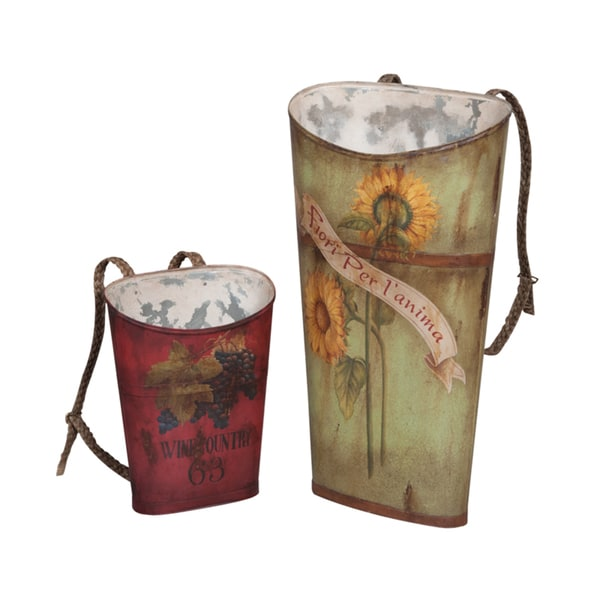 Guildmaster Tin Wine Baskets