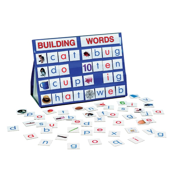 LAURI Tabletop Pocket Chart Building Words
