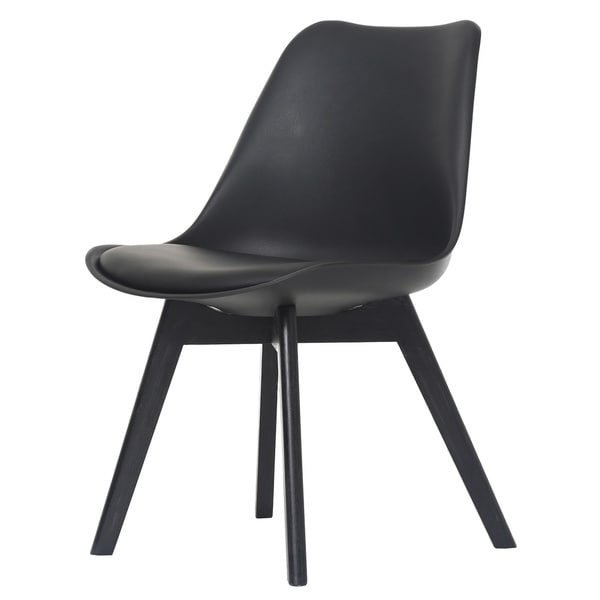 Lane Black Side Chair (Set of 2)