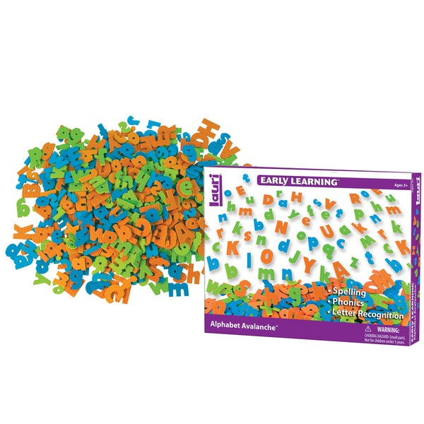 LAURI Mini Alphabet Avalanche 500-piece Letter Set