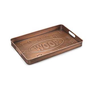 Good Directions Copper Finish Woof Multi-Purpose Shoe Tray