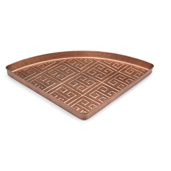 Good Directions Athens Copper Finish Multi-Purpose Shoe Tray