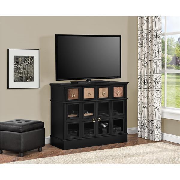 Avenue Greene Wakefield Apothecary 42 inch Black TV Console 17281793
