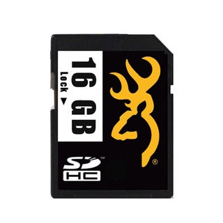 Browning Trail Cameras- No MAP Browning Trail Camera 16 GB SD Card