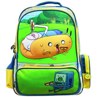 Adventutre Time Hotdog Jake and Finn Backpack