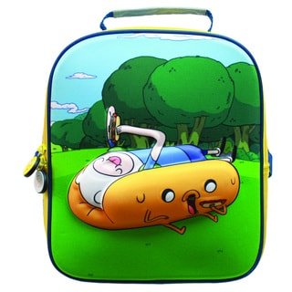 Adventure Time Hotdog Jake and Finn Luchbag