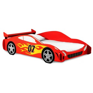 Red Racer Twin Bed